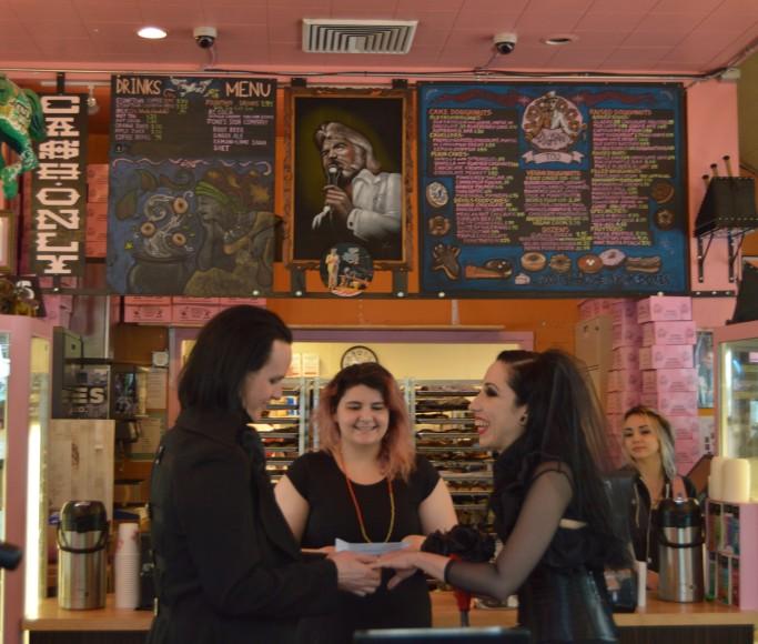 5/10/15 at Voodoo Doughnuts Too in Portland