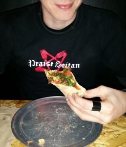 Praise Seitan shirt from Portlands own, Herbivore Clothing!