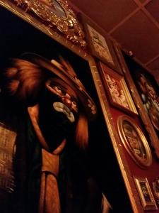 Creepy Clown room at Funhouse Lounge